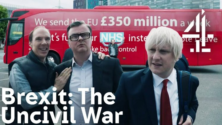 Brexit The Uncivil War on Channel 4. (You should watch this.)