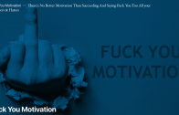People are motivated by different things